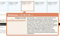 Schedule details