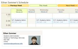 Browsing Schedules