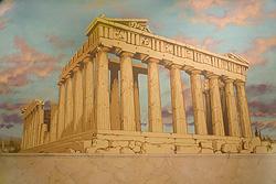 Parthenon mural